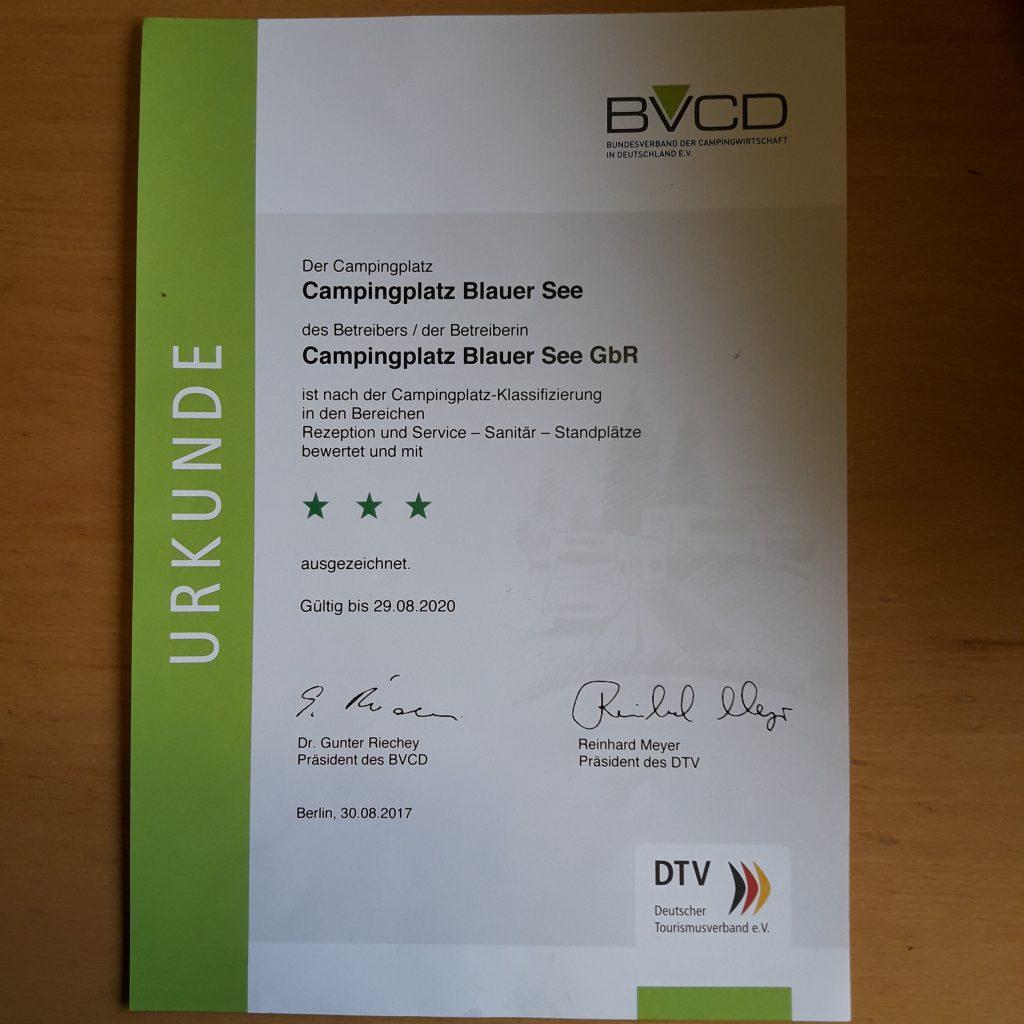 Zertifizierungen, Auszeichnungen & Mitgliedschaften: BVCD *** Zertifizierung 2020