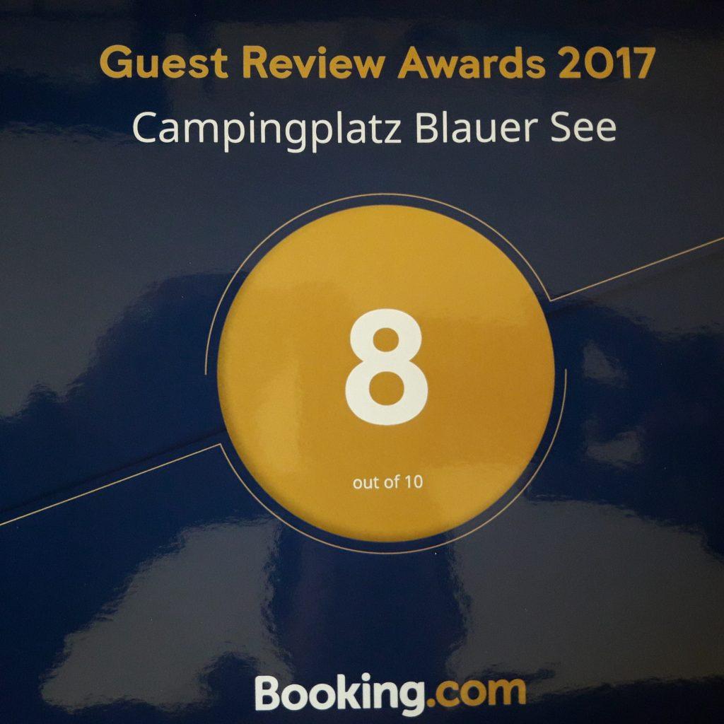 Zertifizierungen, Auszeichnungen & Mitgliedschaften: Booking.com Award 2017