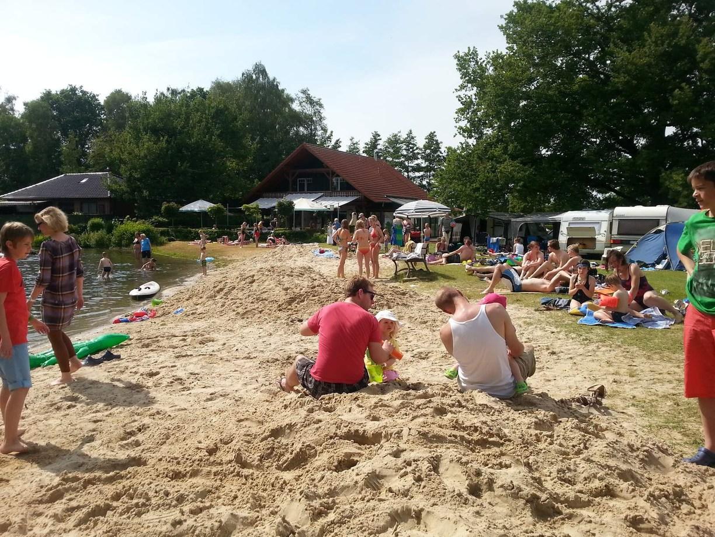 Strandleben Pfingsten 2